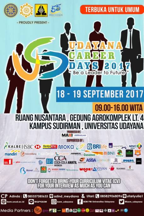 Udayana Career Days 2017